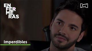 Carlos le aclara sus sentimientos a Andrea | Enfermeras