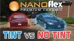 Nanoflex™: Tint vs No Tint