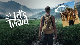 How to fake your travel photo location Manipulation  Photoshop CC