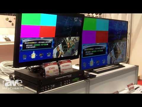 InfoComm 2014: AV Link Highlights HDMI Video Wall and HDMI Matrix Extendr