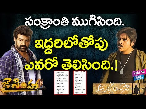 Who Is Sankranthi Winner ? | Agnathavasi And  Jai Simha, | Pawan Kalyan | Balayya |YOYO Cine Talkies