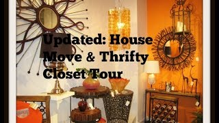 Update: House Move & Thrifty Closet Tour Thumbnail