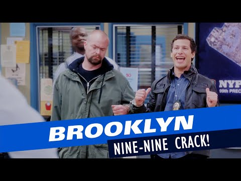 brooklyn nine-nine crack | I fought the law and the law won