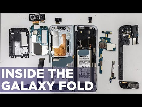 Galaxy Fold Teardown - How Does The Folding Screen Work?