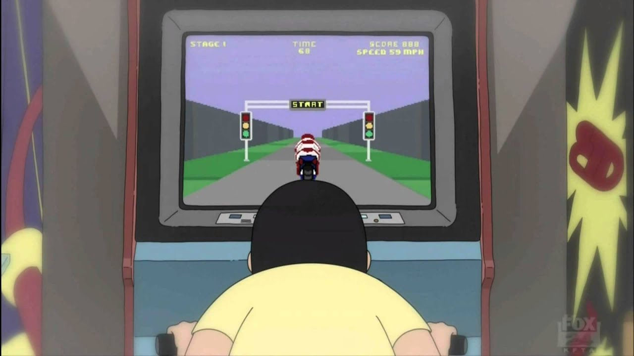 Bob S Burgers Gene Motorcycle Video Game Youtube