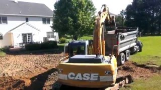 Earth Mover Digging Machine dirt case excavator dump truck heavy equipment
