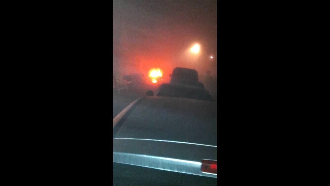 Car on fire (dartford)