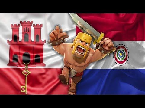 4ª Jornada CWC: Paraguay VS Invictus Gibraltar | Clash of Clans