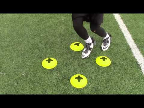 Kevin Rodriguez WR: Football Drills and Routes