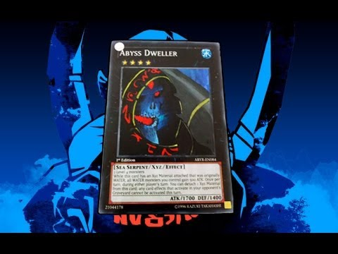Altered Yugioh Card Art Abyss Dweller Becomes Lich From