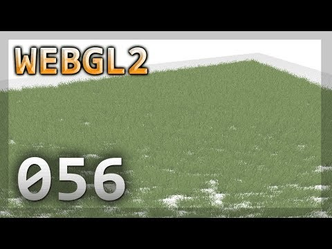 WebGL2 : 056 : Swaying Particle Textured Grass
