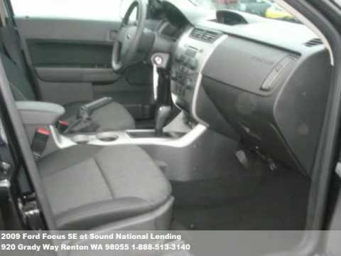 2009 Ford Focus SE, $13771 at Sound National Lending in Renton, WA