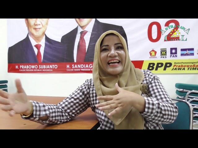 Relawan Partai Emak-emak Siap Menangkan Prabowo-Sandi