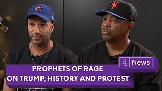 Prophets of Rage on Trump, history and protest | (Tom Morello, Chuck D - Full interview)