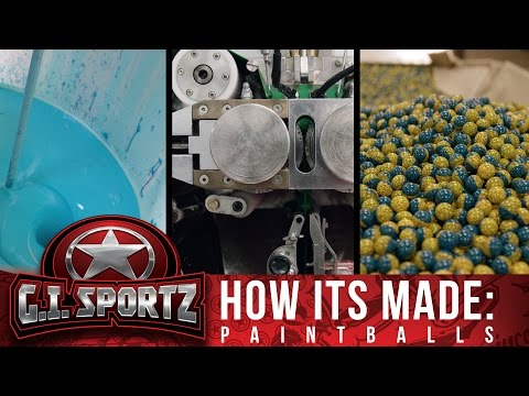 How Paintballs Are Made at G.I. Sportz