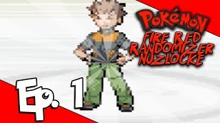 THE VOYAGE BEGINS! Pokemon Fire Red Randomized Nuzlocke Ep. 1 w/ The Nerdtastic Voyage
