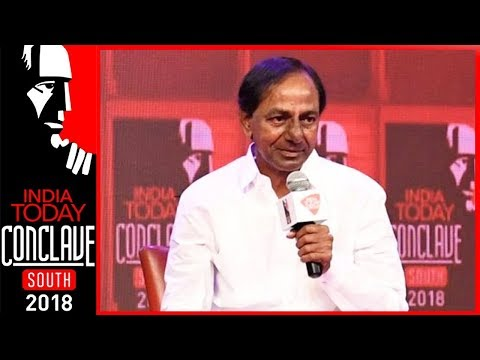 Telangana CM, KCR On Challenges Of Building A New State | India Today South Conclave 2018