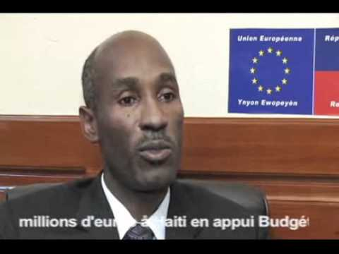 Haiti: Interview du Ministre des Finances haitien, Ronald Baudin