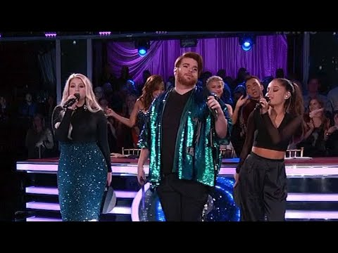 Ariana Grande, Meghan Trainor & Who Is Fancy Perform 'Boys Like You' (VIDEO) | Hollywire
