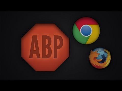 AdBlock Plus Für Google Chrome   ALLE Anzeigen Aus Dem Netz Entfernen! (German/Deutsch) [HD]