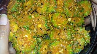 karela achar/bitter gourd pickle recipe