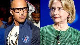 TI Says He Could Never Vote For a Woman For President Then Apologizes After Getting Backlash.