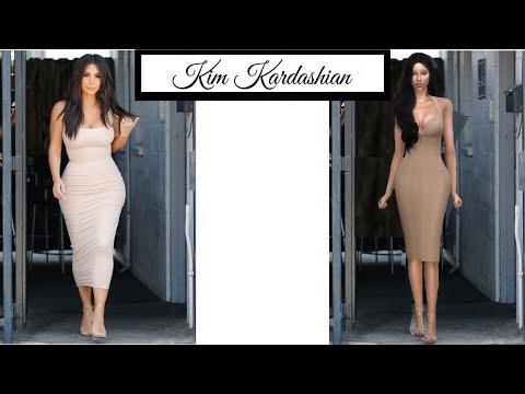 THE SIMS 4: КИМ КАРДАШЬЯН (Kim Kardashian)