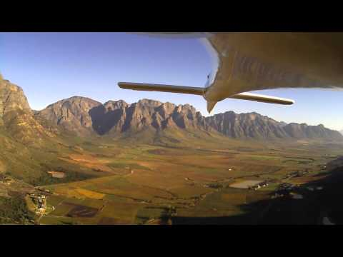 Fly the Cape Winelands in late autumn