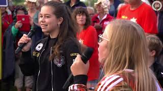 Rocking Rietgors zingt de 'Zomer in Gelderland' tune