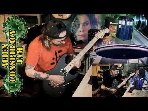 Alien Conspiracy Guitar Jam