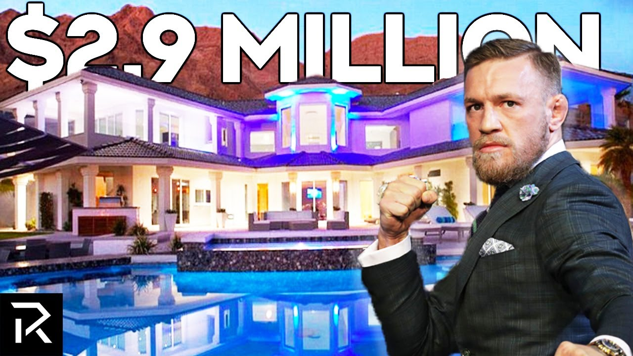 Inside Conor McGregor's $2.9 Million Mansion