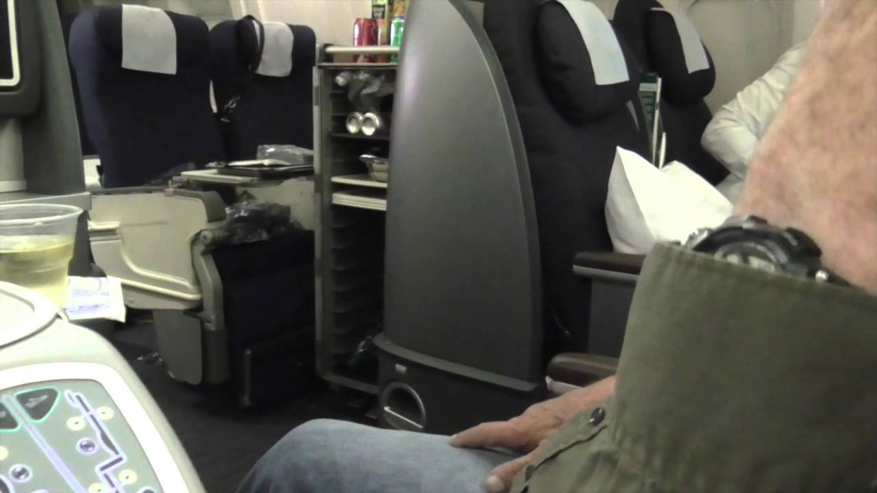 United Airlines Boeing 767 300 Business Class Chicago To
