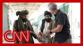 See what CNN reporter saw inside US air base now under Taliban control