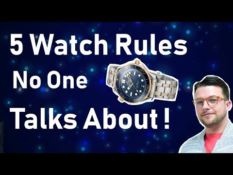 5 WATCH RULES That NO ONE Talks About !