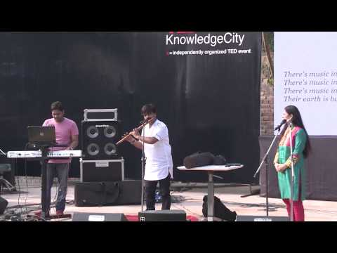 Moods: secret weapon: Vidhi Sharma with Pt. Ajay Prasanna at TEDxKnowledgeCity 2013