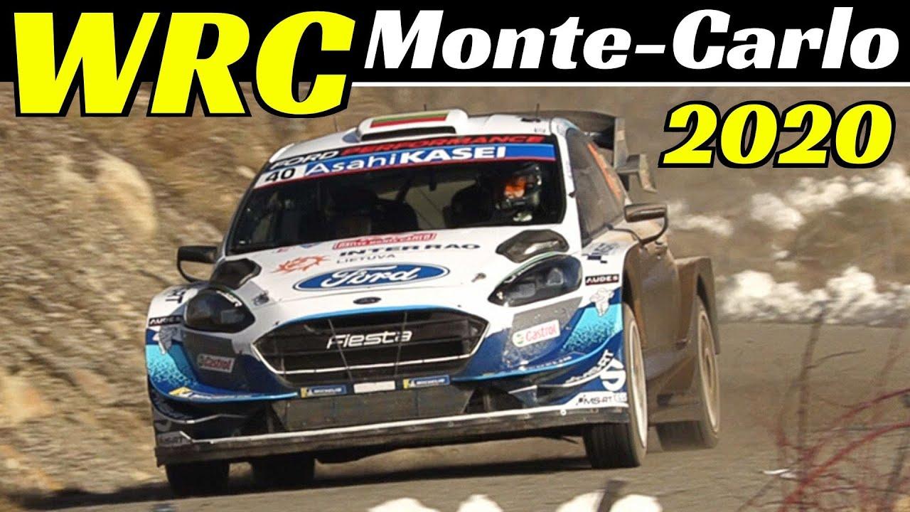 WRC Rallye Monte-Carlo 2020 - Samedi/Saturday PS 10/12 La Breole/Selonnet - Action & Pure Sound!