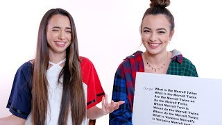 Merrell Twins Answer the Web