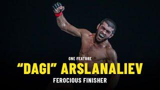 """Dagi"" Arslanaliev Is A Ferocious Finisher | ONE Feature"