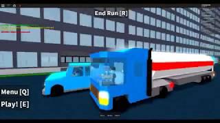 Roblox Car Crash Simulator tanker truck vs traffic