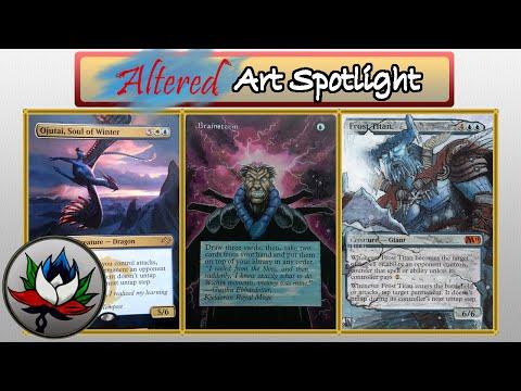 Altered Art: Teenage Mutant Ninja Turtles, Future Sight, Brainstorm, and more – MTG!