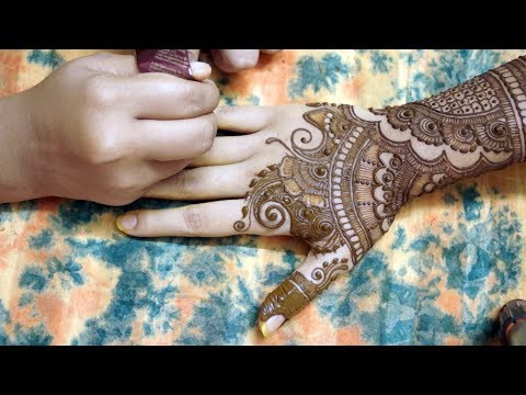 Learn Quick Mehendi Design With Easy Pattern