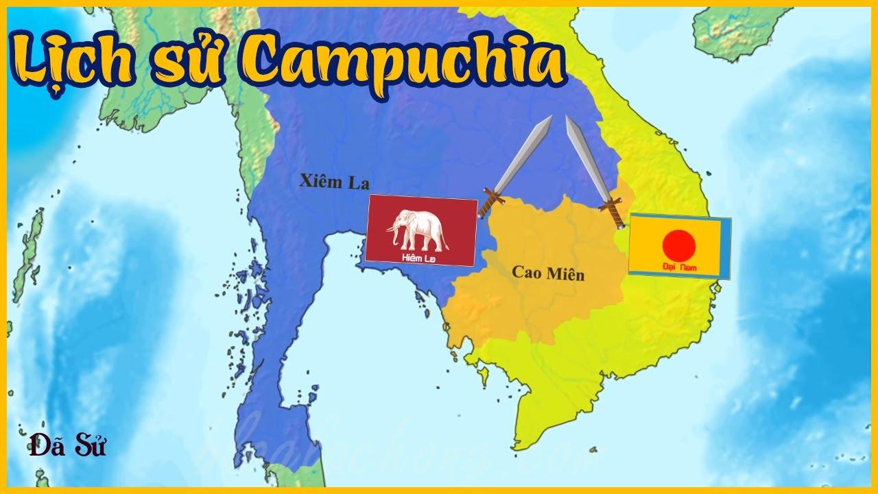 Tóm tắt lịch sử đất nước Campuchia – Đế chế Khmer – Dã Sử Truyện