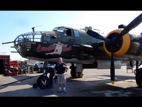 "GoPro Take a Flight Inside the North American B-25J Mitchell ""Executive Sweet"" Camarillo Airport"