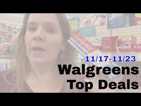 My Don't Miss Deals At Walgreens This Week: 11/17-11/23