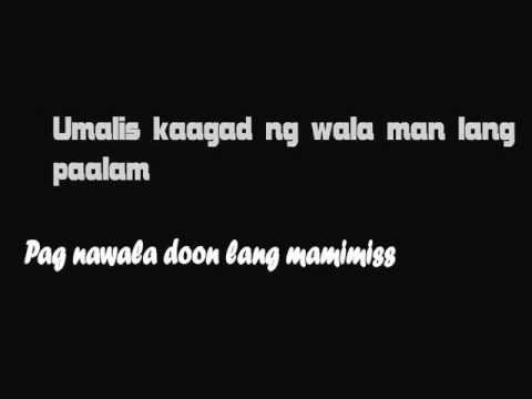 Halik - Kamikazee [ Lyric Video ] with download link