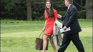 Hope Hicks promoted to interim White House communications director