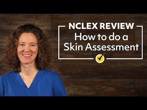 Skin Assessment NCLEX Review 2019 YouTube