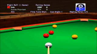 Virtual Pool 64 8-Ball Vídeo 1