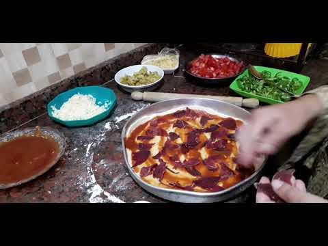 صورة  طريقة عمل البيتزا طريقة عمل البيتزا فى المنزل أحسن من مطاعم البيتزا طريقة عمل البيتزا من يوتيوب