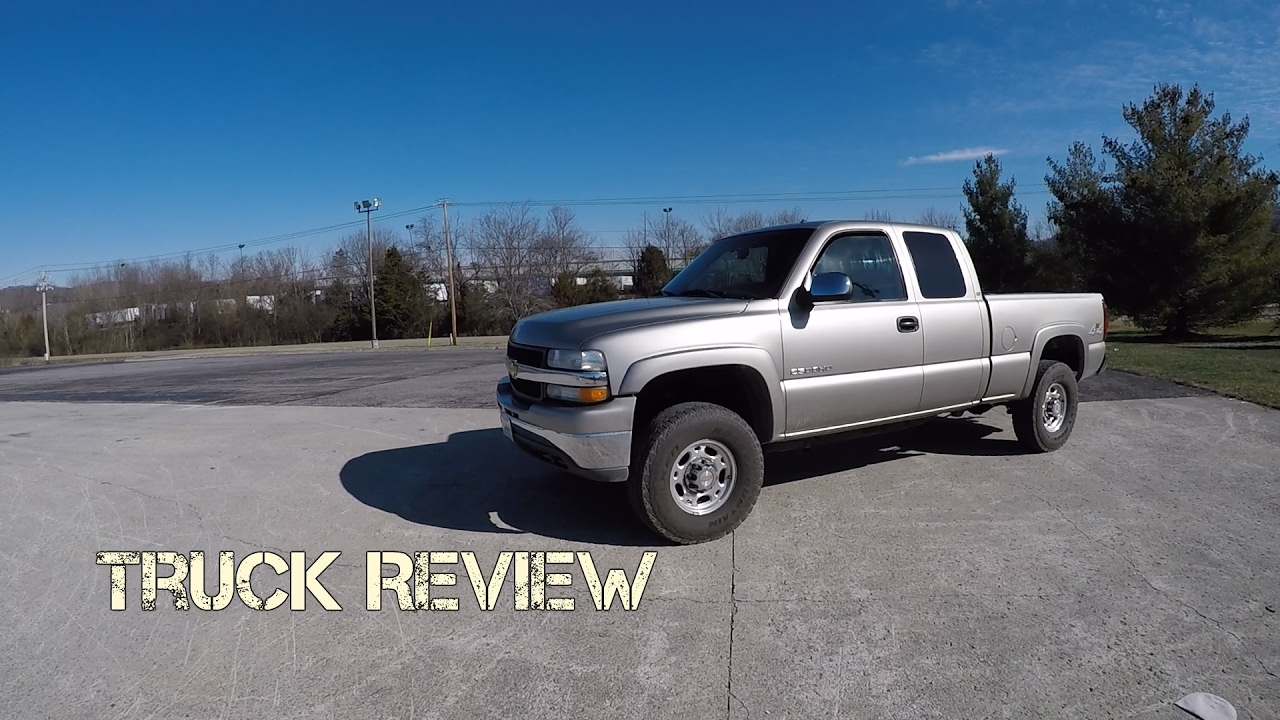 2002 Chevy Silverado 2500 8 1l Block V8 Truck Review